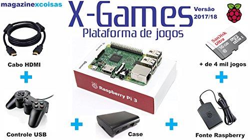 RetroBox - Raspberry Pi 3 Based Retro Game Console