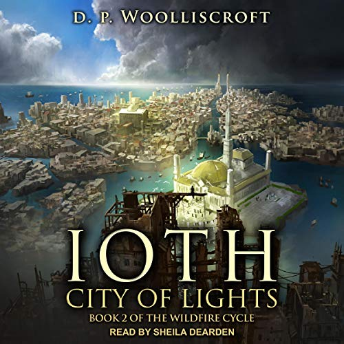 Ioth, City of Lights audiobook cover art