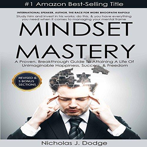 Mindset Mastery audiobook cover art