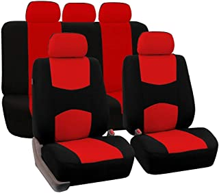 9pcs Set Car Universal Car Front Seat Cover Automotive Seat Covers All The Year Round Fine-quality Cotton Cloth