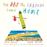 The Day the Crayons Came Home by Drew Dewalt as part of our 1000 books for the summer goal.