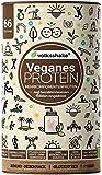 VEGANES PROTEIN Schokolade | Volksshake | 1kg mit 12 veganen Proteinen | mit natürlichen Enzymen| Mandel-, Hanf-, Chia-, Quinoaprotein | nachhaltig & ganzheitlich