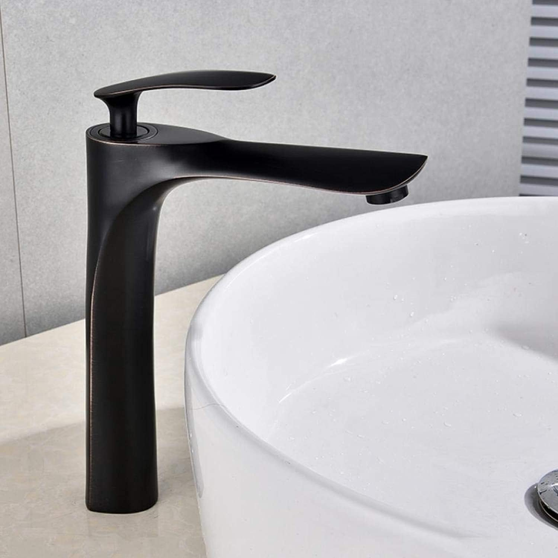 Lddpl Wasserhahn Waschtischarmaturen Waschtisch-Mischbatterie Badarmatur Warmes und kaltes Messing Waschbecken Wasser Kran Mischbatterie Duscharmatur