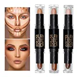 Concealer, Contour, Concealer Contour, Contouring und Highlighter in einem, 6 Colour Make up Concealer contouring stift, Bronzer, Kontur stift Und Highlighter Make-Up Für Jeden Hauttyp, 3PCS