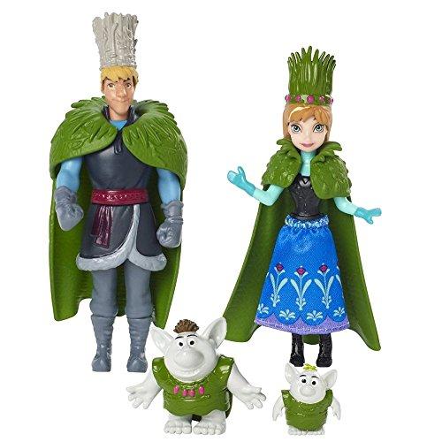 Die Eiskönigin 4 Figuren Set | Disney Frozen | Mattel DFR79 | Deluxe Spielfiguren