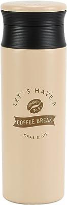 ベストコ 保温 保冷 マグボトル 500ml ベージュ ND-6817 コーヒービーンズ