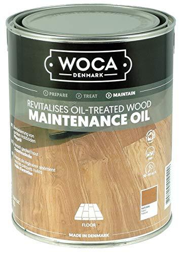 Woca Pflegeöl natur 1l Pflegeöl für geölte Parkett- und Holzfußböden