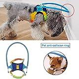 Arnés para Perro Chaleco para arnés Chaleco para Mascotas Cabeza Cabeza Protectora Resistente a la colisión Anillo Resistente para Gato Perro Caminar al Aire Libre