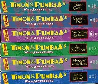 Disney - Timon and Pumbaa's Wild Adventures (6 Pack)