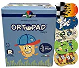 Ortopad Large Format Eye Patches for Boys, 50/Box (Regular Size)