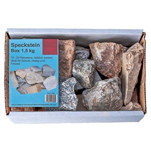NEU AMI Speckstein Box 1,5 kg