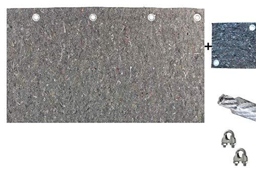 Pfeilfangmatte Maximum Safe 2m (breit) x 1m (hoch) inkl. Zubehör & BACKSTOP: 25cm x 25cm