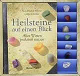 Heilsteine auf einen Blick-Set: Altes Wissen praktisch nutzen. Buch mit 7 Steinen