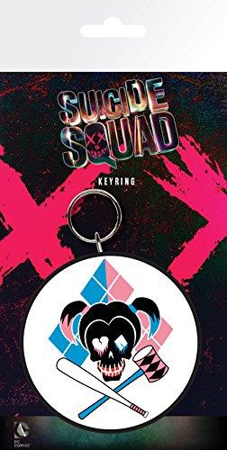 GB Eye LTD, Suicide Squad, Harley Quinn Skull, Llavero