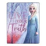 Frozen 2, Elsa Living Truth Silk Touch Throw Blanket, 40' x 50'