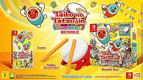 Taiko no Tatsujin: Drum 'n' Fun! - Bundle inkl. Trommel - (exklusiv bei Amazon.de)