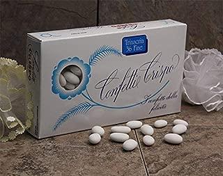 Crispo Confetti White Trinacria Fine - Jordan Almonds White 1000g Made in Italy