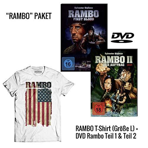 Rambo 1: First Blood + Rambo 2: Der Auftrag Uncut DVD +...