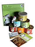 Pfotenliebe Bio-Katzenfutter Schnupperpaket, ausgezeichnete Bio Qualität seit 2007, 6 x 200g Verschiedene Sorten