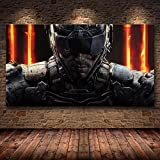 Aishangjia Sin Marco HD Call of Duty Warzone Game Poster Anime Lienzo Pintura Decorativa Pegatinas de Pared Arte de la Pared Decoración del Dormitorio del hogar 50x70 cm A-1438