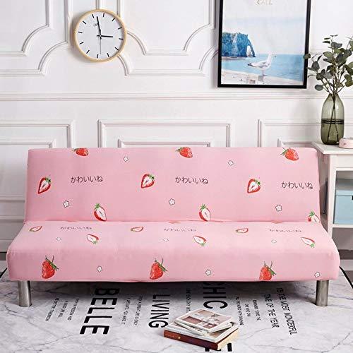 WEDZB Sofa hoes,All-inclusive Opklapbare Slaapbankhoes Strakke Wrap Sofa HanddoekGeen armleuningen Strakke Wrap Sofa Cover voor Woonkamer, 3, M (lengte 150,190 cm)