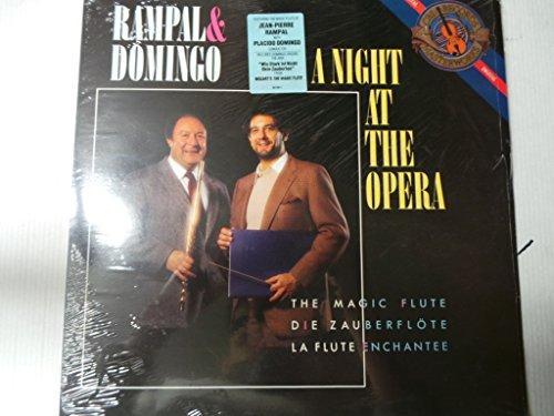 A Night at the Opera--AAVV-DOMINGO Placido (tenore - dir); RAMPAL Jean Pierre (flauto traverso - dir)-CBS-CBS IM 42100