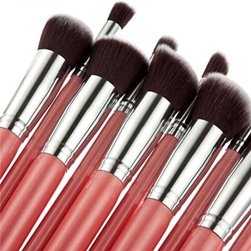 REGAL-HPQ Professionelle Make-up Pinsel-Bürsten-Sätze 10pcs Travel Tragbarer Full Coverage...