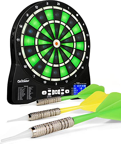 Elemake Electronic Dartboard with 13' Target Area,...