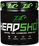 ZEC+ HEADSHOT GAMING- & LEARNING BOOSTER – 280 g Brain Booster Pulver, Gaming-Supplement als Koffein-Drink für Gamer, hochdosiertes Koffein aus Guarana-Extrakt