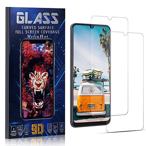 MelinHot Displayschutzfolie für Galaxy Note 10 Lite, Anti Fingerabdruck, Ultra Dünn Blasenfrei Schutzfolie aus Gehärtetem Glas für Samsung Galaxy Note 10 Lite, 2 Stück