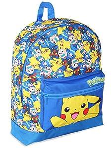 Pokémon Mochilas Escolares Juveniles   Mochila Para Niños Con Pikachu, Litten, Rowlet Y Popplio   Bolso Escolar Niño Y Niña   Bolso De Viaje Para Niños Para La Guardería, La Escuela O El Instituto