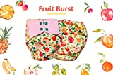Superbottoms Cloth Diapers - Super Trim Supersoft Reusable Cover Diaper with 1 Stay-Dry
