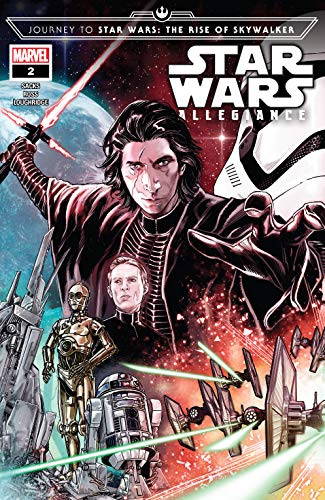 Amazon Com Journey To Star Wars The Rise Of Skywalker Allegiance 2019 2 Of 4 Ebook Sacks Ethan Checchetto Marco Ross Luke Kindle Store