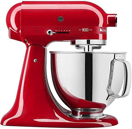 Preisvergleich Produktbild KitchenAid 5KSM180HESD Queen of Heart 5KSM180H Kuchenmaschine,  Edelstahl