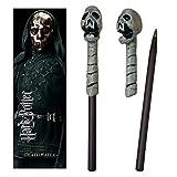 The Noble Collection Death Eater (cráneo) Varita Pluma y Marcador
