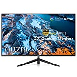 Computer Monitor - 2021 AUZAI 27 Inch 144Hz 1ms IPS Gaming Monitors, FHD 1080P Frameless Display, Support G-Sync & FreeSync, with HDMI/DP/USB Port for Xbox PS4/5 PC, Tilt Pivot, VESA Mount