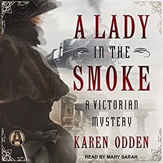 A Lady in the Smoke audiobook cover art