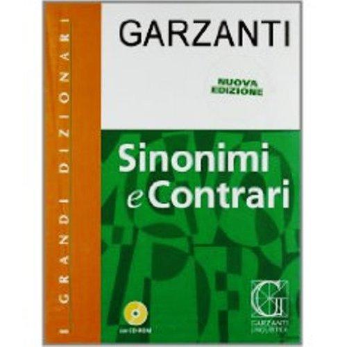 I Grandi Dizionari: Sinonimi e Contrari (con CD)