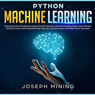 Python Machine Learning audiobook cover art