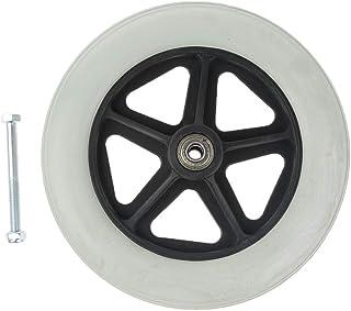 Fenteer Ruedas de repuesto para sillas de ruedas de 20,32 cm, resistentes al