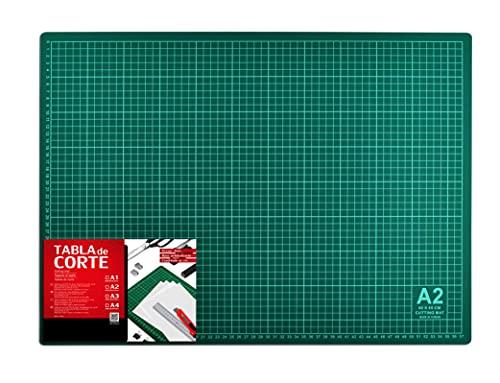 Base de Corte Autocicatricante Patchwork - Cutting Mat de 5 capas para Costura y Manualidades (TAMAÑO A2 - 59,4 x 42 cm)