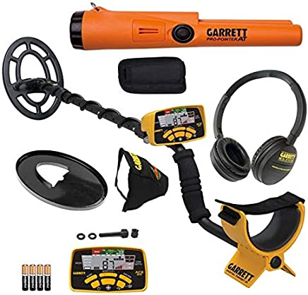Garrett ACE 300 Metal Detector with Waterproof Search Coil and Pro-Pointer AT