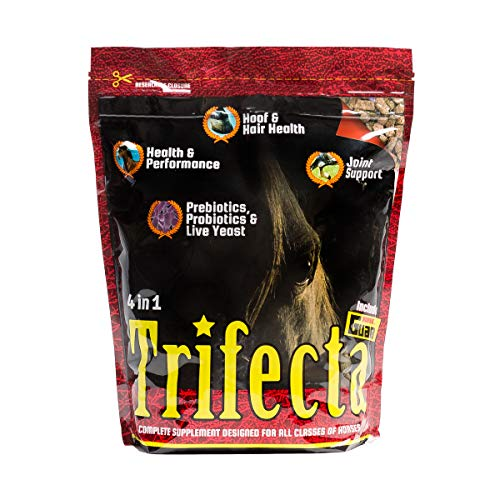 Horse Guard Trifecta Equine Vitamin Mineral Joint Hoof & Probiotic Supplement, 10 lb