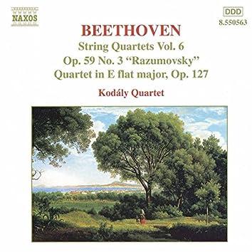 Beethoven: String Quartets, Op. 59, No. 3, 'Rasumovsky' and Op. 127
