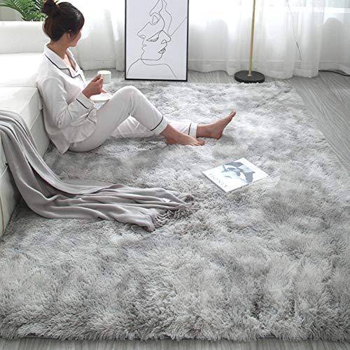 Romsion Home voor eenvoudige pluche tapijt slaapkamer schattig bed deken Scandinavische woonkamer bank salontafel mat dikke mat
