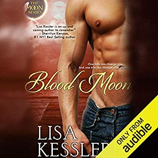 Blood Moon audiobook cover art