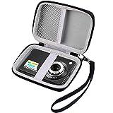Digitalkamera Tasche für AbergBest 21 Megapixel 2,7' LCD wiederaufladbare HD Digitalkamera Digitale Videokamera Studentenkamera Indoor Outdoor für Erwachsene/Senioren/Kinder
