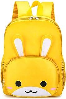 Little Kid Toddler Backpack 3D Rabbit Ears Decoration Boys/Girls Kindergarten Pre School Bags Cute Backpacks for Children 1-5 Years Old Outdoor (Color : Yellow)
