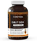 RRG Cureveda™ Herbal Gout Gem for Uric Acid, Joint Control & Support (60 Tablets)
