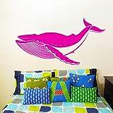 Geiqianjiumai Hai Fisch Fisch Muster Mode Dekoration Wandaufkleber Wohnzimmer Design Kunst Stil...